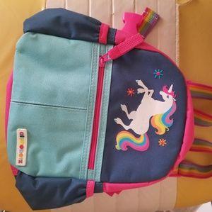 Toddler backpack leash unicorn